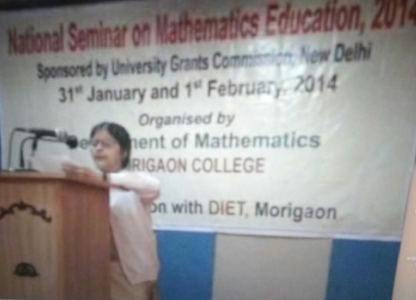 National Seminar on Mathematics Education