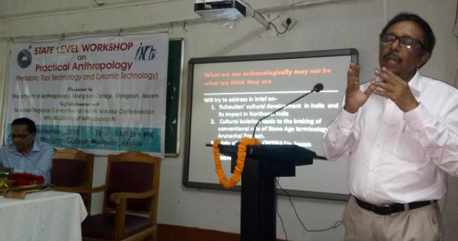 State Level Workshop on Practical on Tools and ceramic Technology