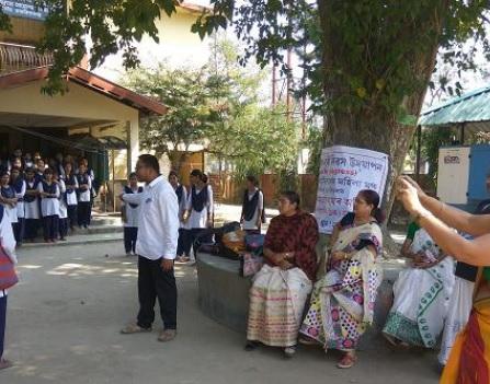 Street Drama of Xamata Amar Adhikar